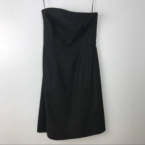 Vince Strapless Little Black Dress